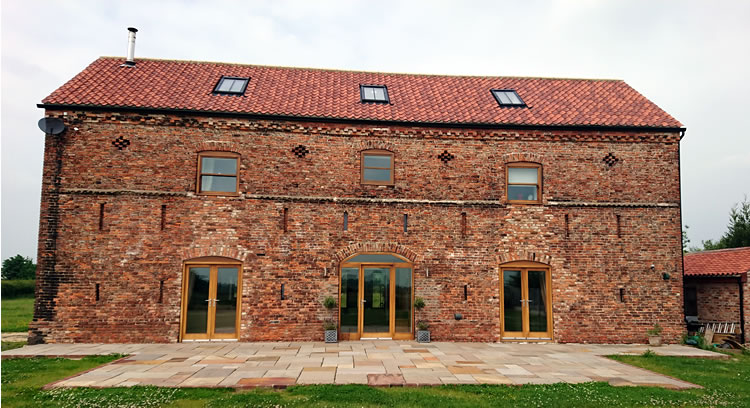 Barn conversion we completed in Moss, near Doncaster, South Yorkshire.